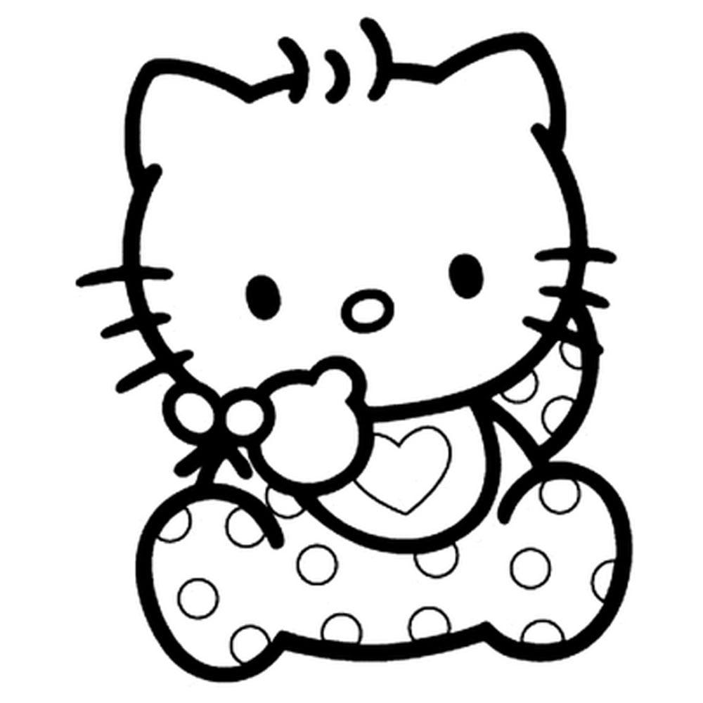 Free Hello Kitty Pumpkin Templates