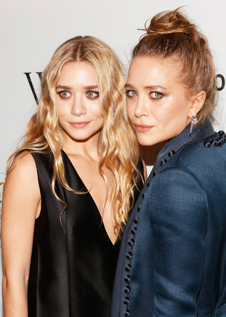 At 2012's WSJ. Magazine's Innovator of the Year Awards, Ashley showed off long blond waves, and Mary-Kate went with a messy topknot.