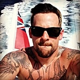 Joel Madden shared a selfie while on a yacht in Italy. Source: Instagram user joelmadden