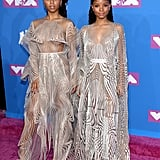 Chloe x Halle Wearing Iris van Herpen at the 2018 MTV Video Music Awards