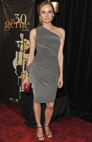 Diane Kruger Wears RM by Roland Mouret Hebe Dress to Genie Awards in Toronto