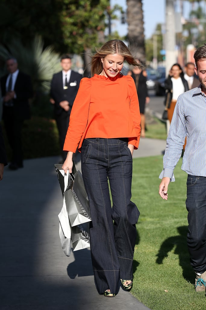 How to Wear Jeans: Gwyneth Paltrow