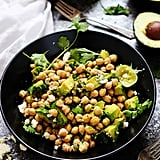 Guacamole Salad With Chickpeas