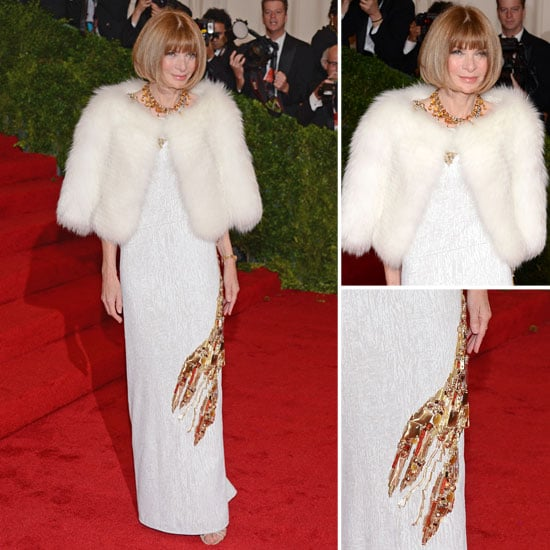 Anna Wintour at Met Gala 2012