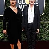 Susan Sarandon and activist Rosa Clemente