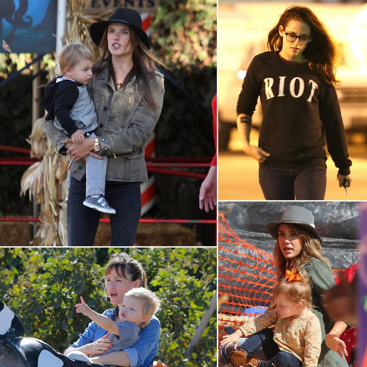 These Pumpkin-Picking Stars Are Ready For Halloween