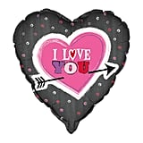 I Love You Arrow Valentine Heart Balloon