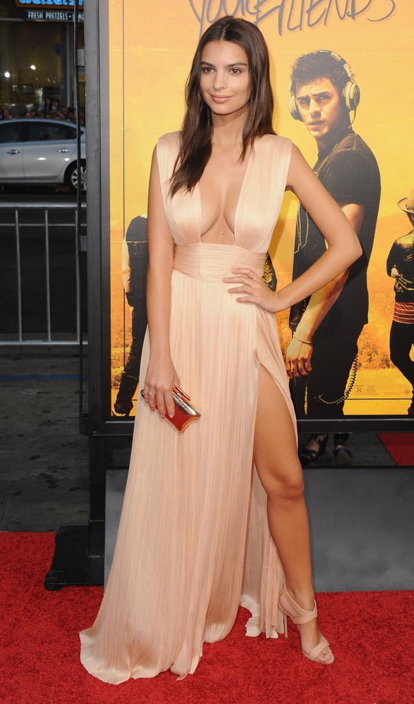 Emily Ratajkowski Wore the Sexiest Dress We Think We've Ever Seen