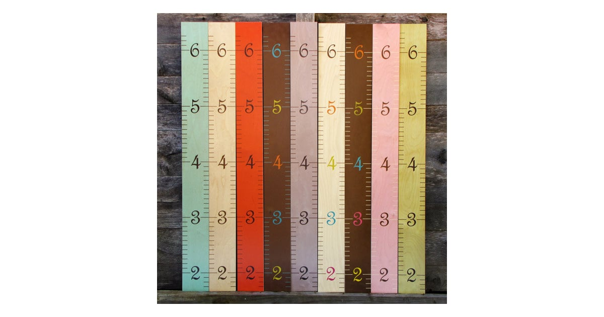 Wooden Ruler Growth Chart 85 Cute Growth Charts For Toddlers
