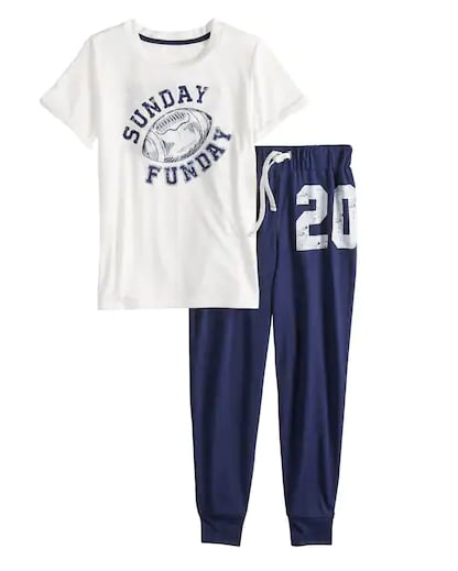 Sunday Funday Pajama Set