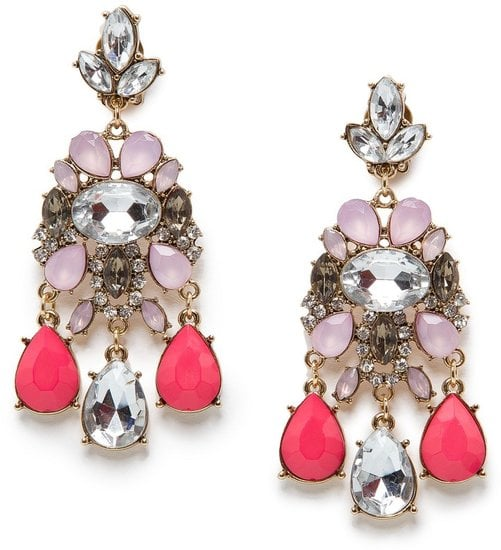 These decadent-looking Mango crystal-embellished earrings ($45) are sure to turn some heads — and elicit a few compliments, too.