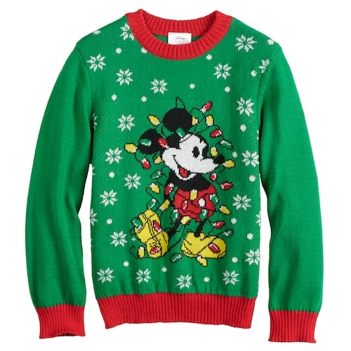 mickey mouse sweater - Mickey Mouse Christmas Sweater