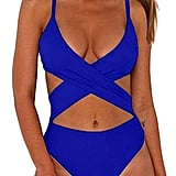 CHYRII Women's High Waisted Cut Out Monokini Swimsuit