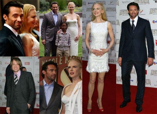 Photos of Nicole Kidman, Hugh Jackman, Keith Urban at the Premiere of Australia in Sydney