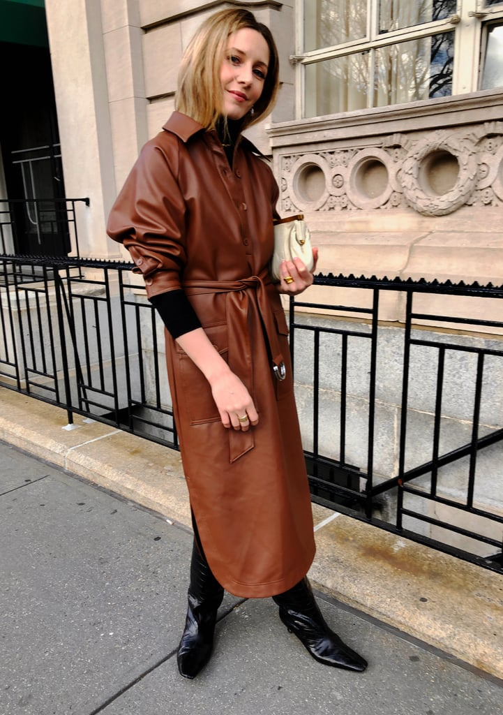 Ways to Wear Leather: A Dress