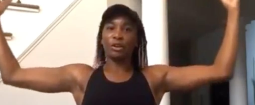 Venus Williams and Ashley Graham's Instagram Live Workout