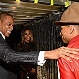 "Then Jay Z was like, ""Bro, your hat is huge."""