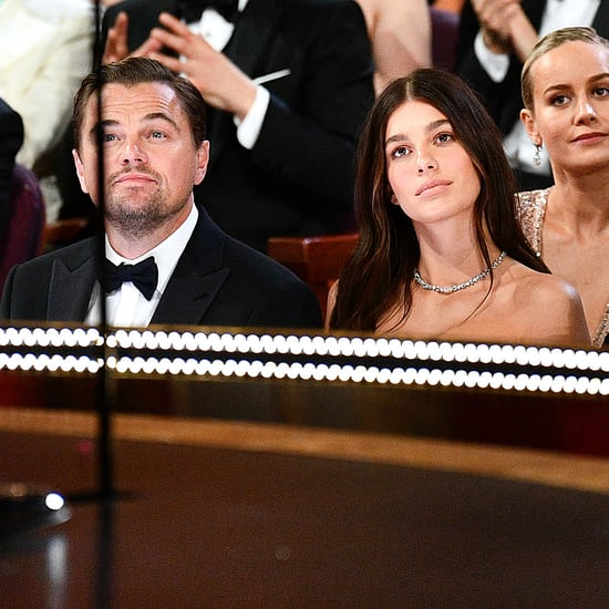 Leonardo DiCaprio and Camila Morrone at the Oscars 2020