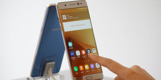 Samsung Recalls Galaxy Note 7 Phones Over Exploding Battery
