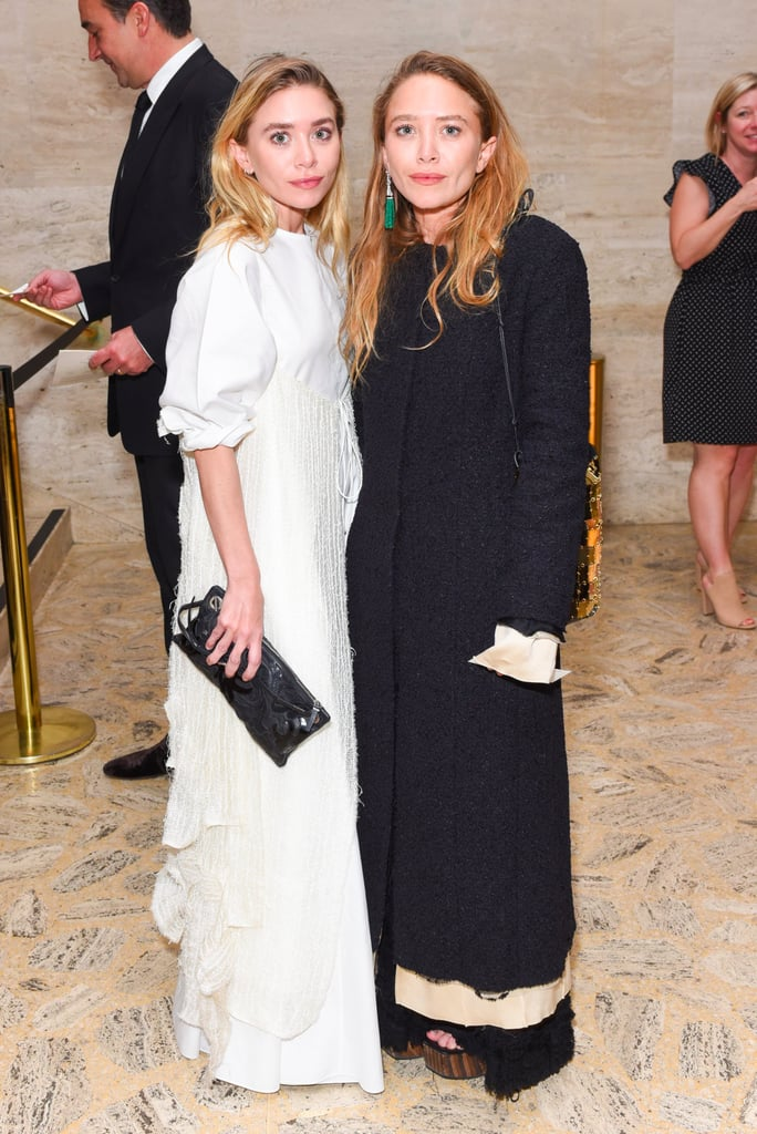 Mary-Kate and Ashley Olsen Bags at Grand Prix Gala