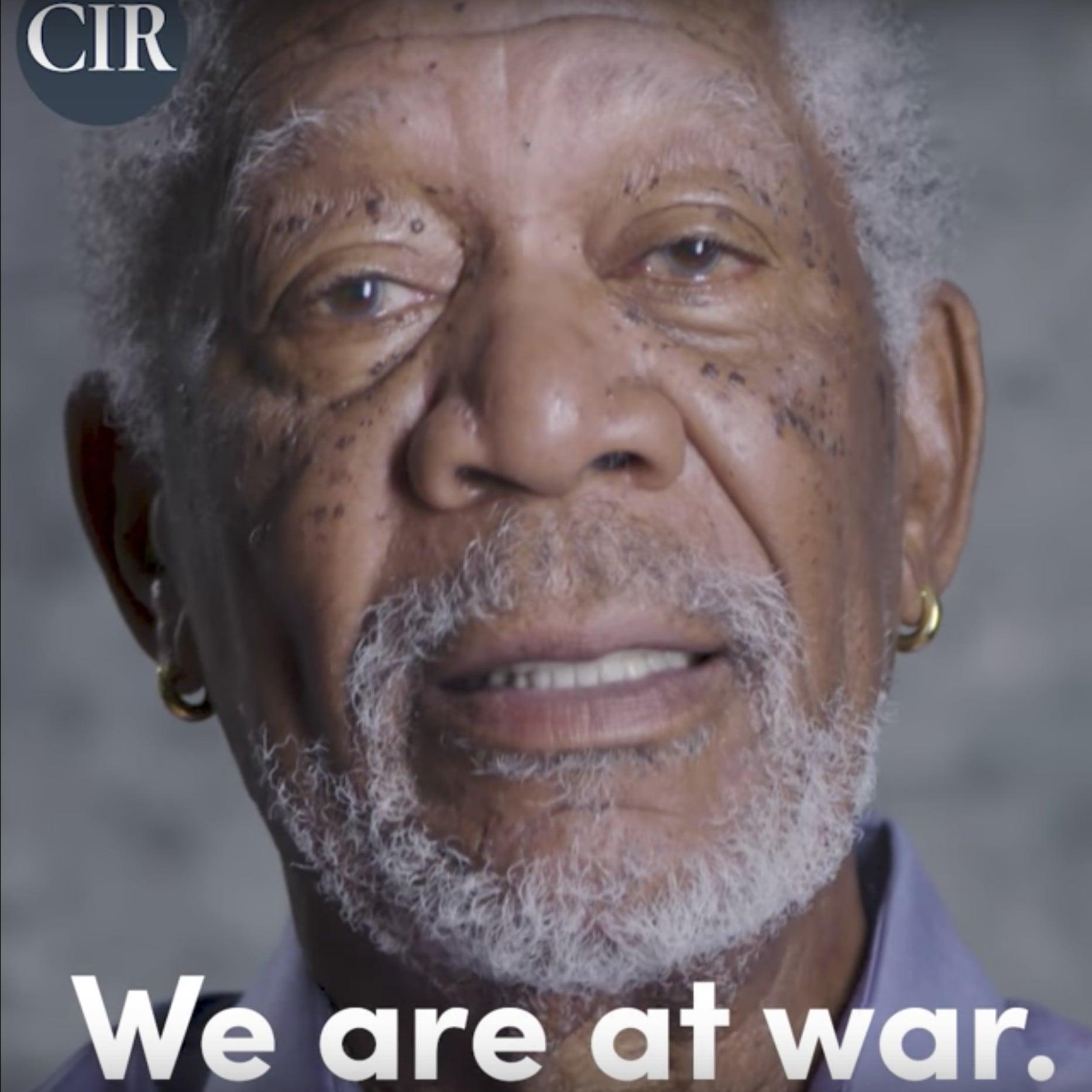 Risultati immagini per Morgan Freeman committee to investigate russia