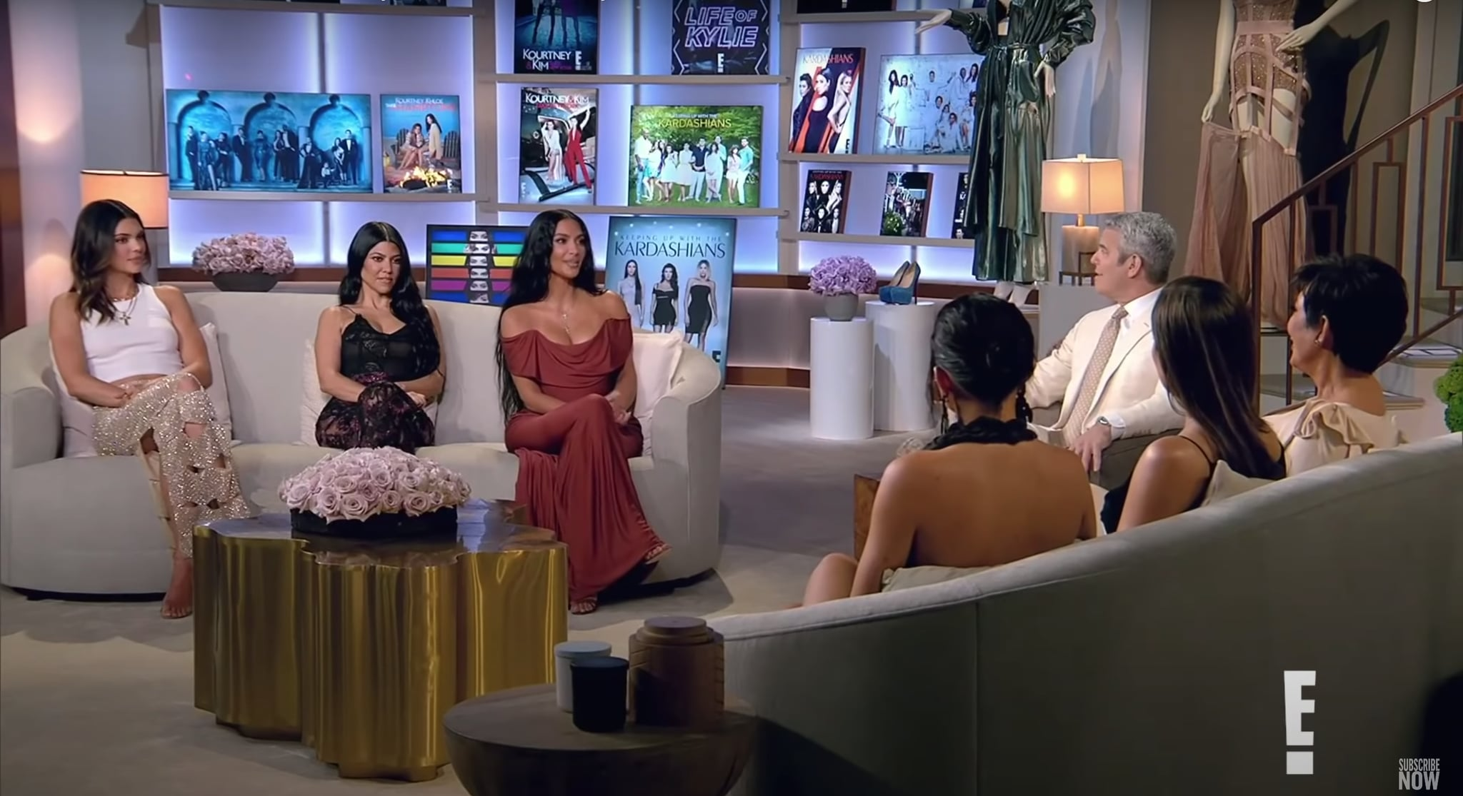 Kendall Jenner's Cutout Skirt Outfit on the KUWTK Reunion | POPSUGAR Fashion