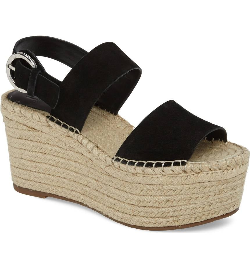 Marc Fisher Renni Espadrille Platform Wedge Sandals