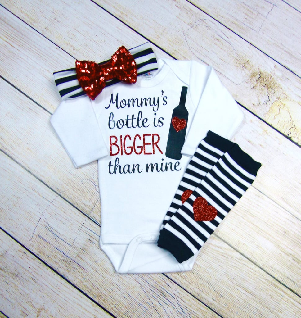 Wine-Inspired Baby Outfit