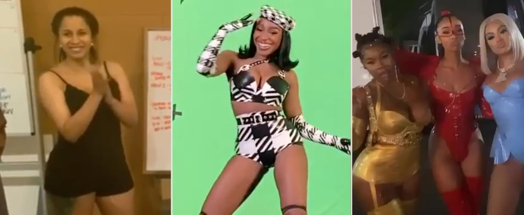 "Cardi B Megan Thee Stallion ""WAP"" Behind-the-Scenes Clips"
