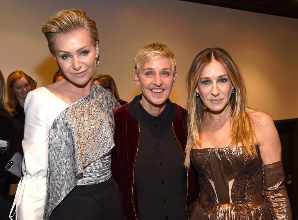 Pictured: Sarah Jessica Parker, Portia de Rossi, and Ellen ...