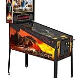 There are three versions of the pinball machine.