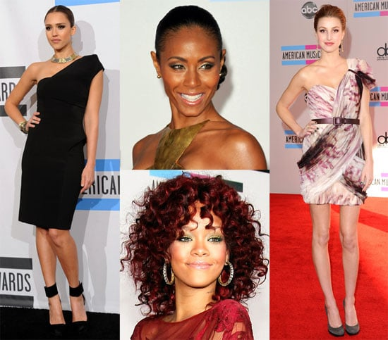 Pictures of Jessica Alba, Whitney Port, Rihanna and Jada Pinkett Smith at the American Music Awards