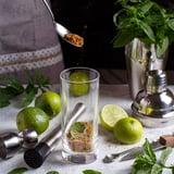 Mint and Lime Kombucha Mojito Mocktail Recipe