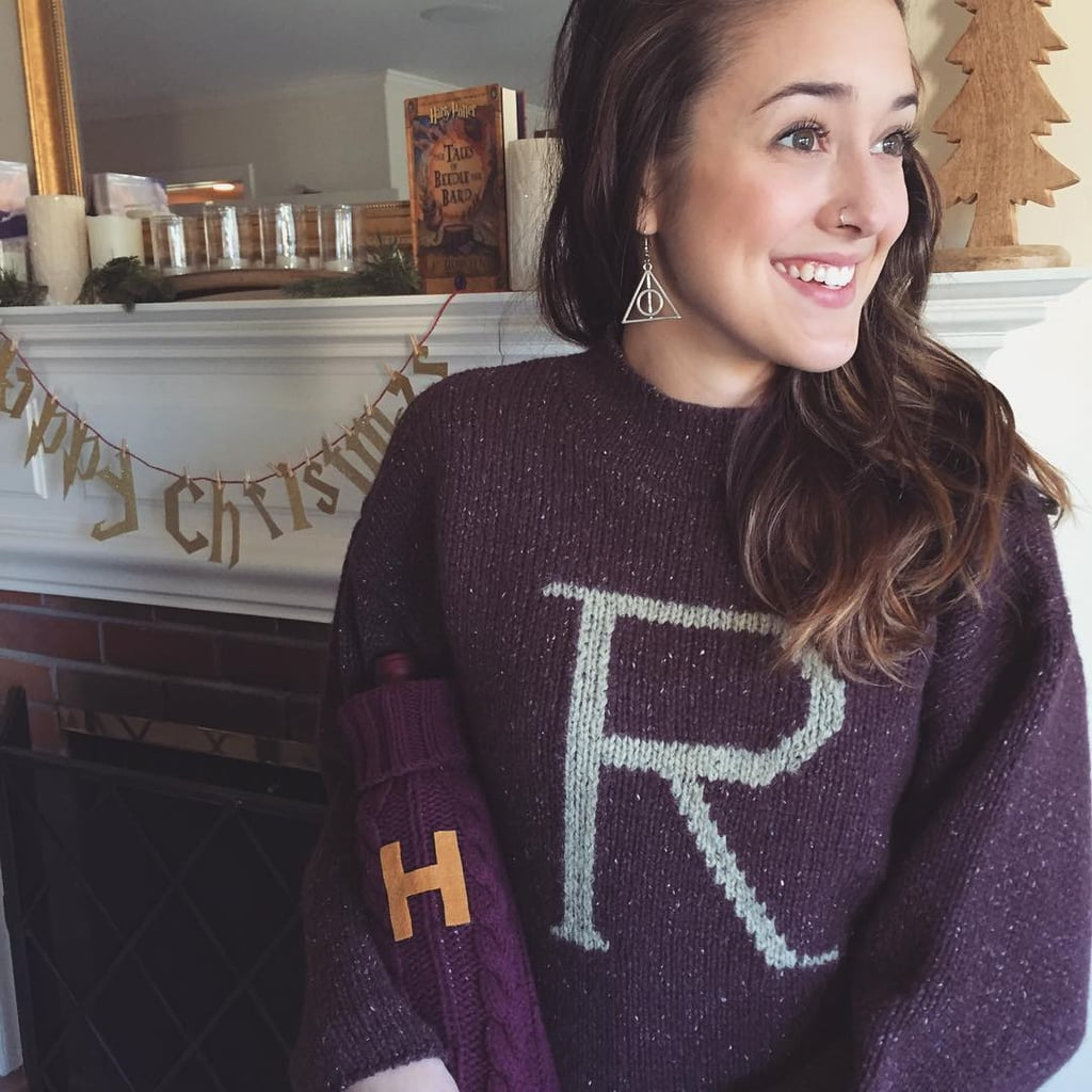 Knitting Pattern For Weasley Sweater : Harry Potter Bucket List POPSUGAR Technology UK