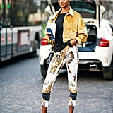 How to Style Workout Clothes: Leggings + T-shirt + Jacket + Sneakers
