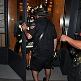 Kylie and Kendall Jenner Rescued From Elevator by NYFD