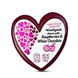 Valentine's Day Cheese — Wensleydale With Raspberries & White Chocolate