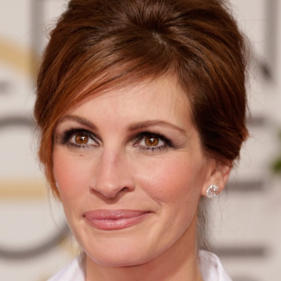 Julia Roberts's Hair by Serge Normant | Golden Globes 2014