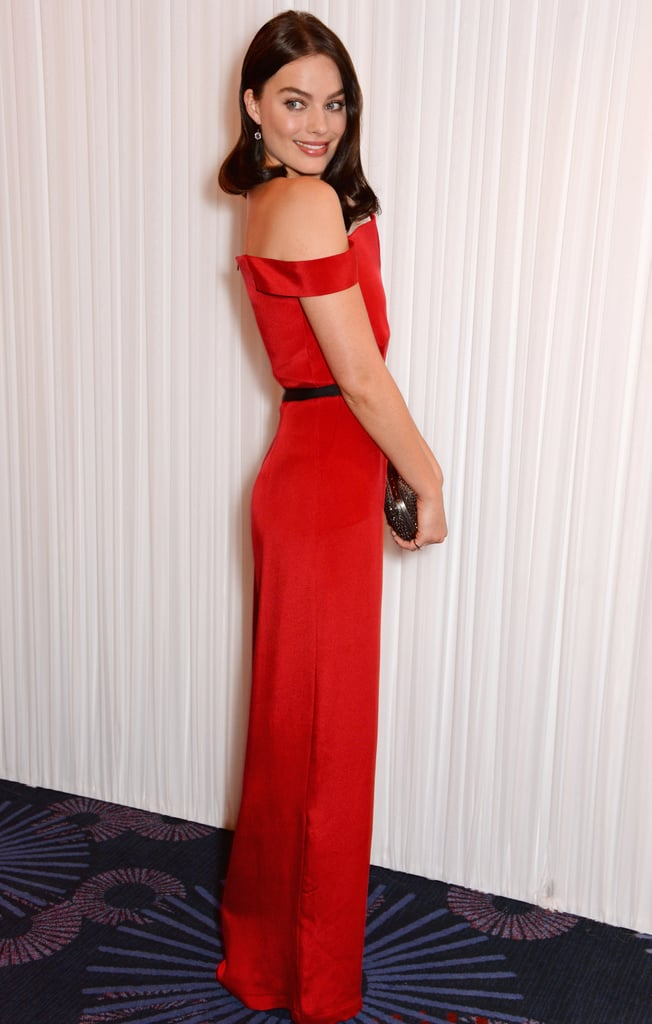 Wearing a Paper London jumpsuit to the Jameson Empire Awards in 2014.