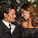 Matt Smith and Lily James at the My Burberry Black Launch