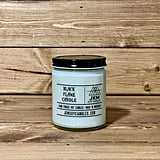 9-Ounce Black Flame Soy Candle
