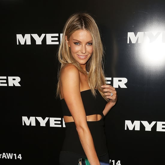 Celebrities at Myer Autumn/Winter 2014 Fashion Launch