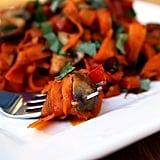 Wednesday: Carrot Fettucine With Sautéed Tofu