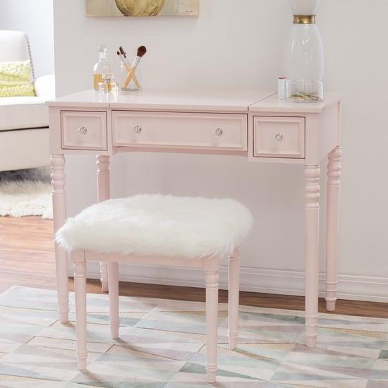 Cute Pink Vanity From Walmart