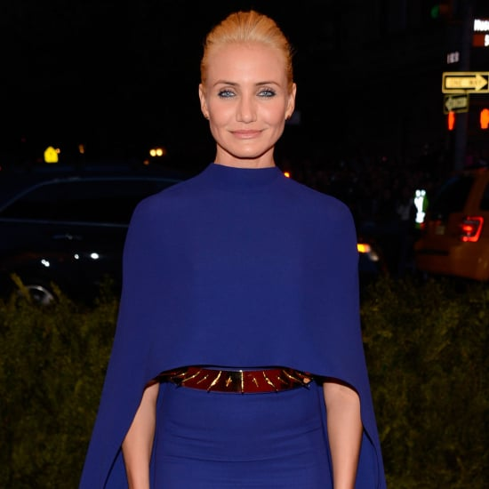 Cameron Diaz wears Stella McCartney to 2013 Met Gala