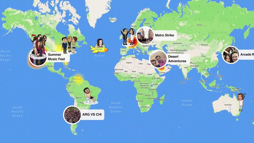Map Of Australia Video.Still Confused Watch Snapchat S Video On How Snap Map Works How
