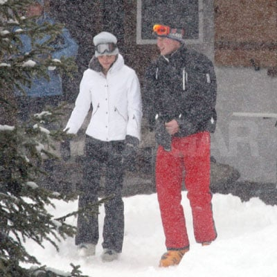 Prince William and Kate Middleton in Klosters, Switzerland