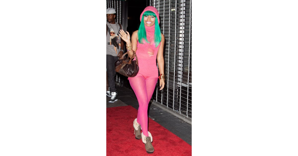Nicki Minaj Style Nicki Minaj Craziest Outfits Pictures Popsugar Fashion Photo 23
