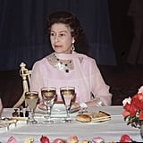 When the Queen Finishes Eating, You're Done, Too