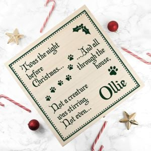 The Letteroom Personalised Pets Christmas Eve Box